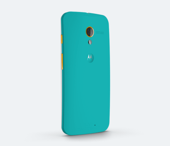 Make a Moto X with your sports team's colors.