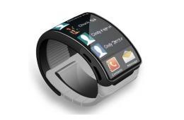 A Samsung Galaxy Gear Smartwatch concept. From VoucherCodesPro