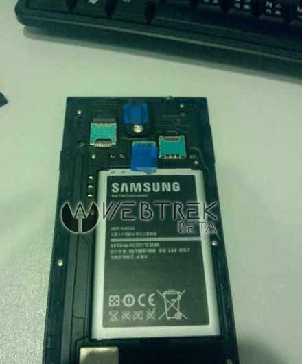A leaked Samsung Galaxy Note 3 battery is huge.