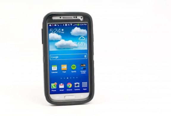 OtterBox Samsung Galaxy S4 case.