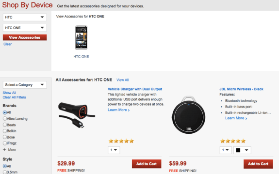 Verizon is clearly prepping for the HTC One release.