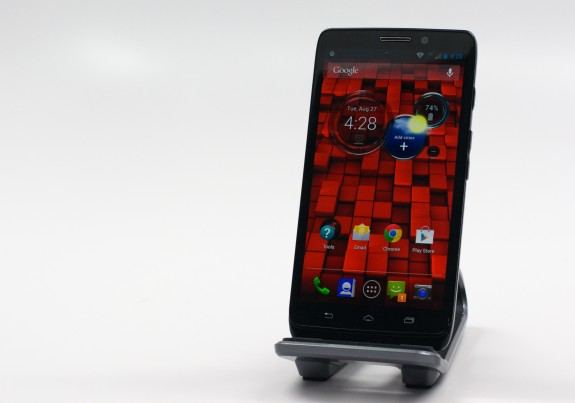 The Droid Ultra comes with a 5-inch display.