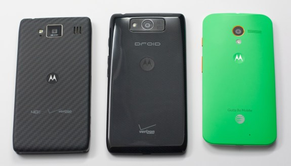 Droid RAZR HD vs. Droid Ultra vs. Moto X.