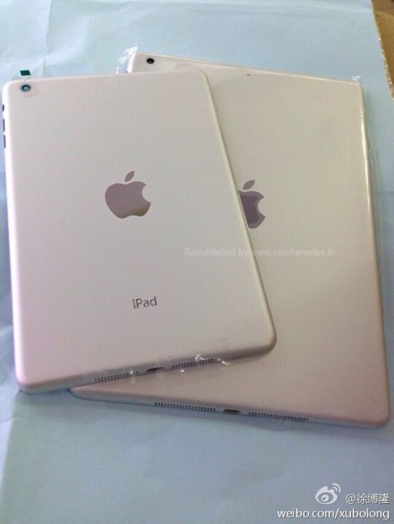 This could be the back of the white and silver iPad 5 with a new design.