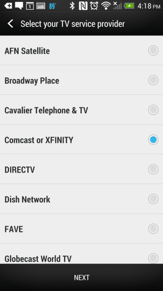 how to control your tv with the htc one (10)