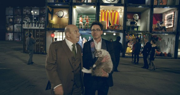 Actor Robert Downy Jr. in the first ad to air as part of HTC's Change marketing push.
