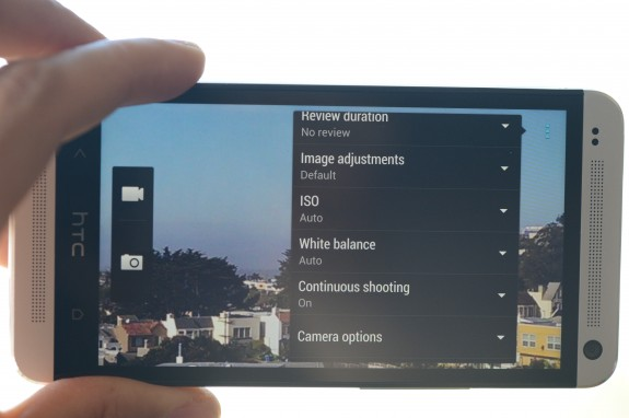 The HTC One and Galaxy Note 3 should both have powerful cameras.