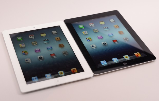 The iPad 5 display will likely borrow from the iPad mini, just as we expect the iPad 5 design to steal the mini's good looks.