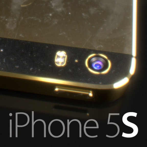 Concept shows an iPhone 5S with a pill-shaped dual-LED flash.