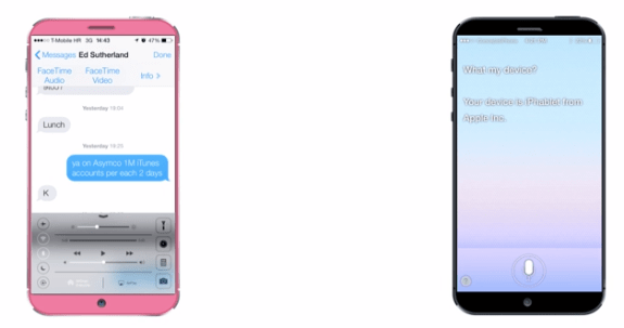 Thin bezels help keep an iPhone 6 with a massive display to a manageable size.