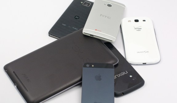 Old iPhones, iPads and Android devices hold value.