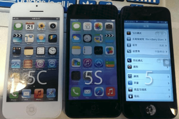 The iPhone 5C is expected to join the iPhone 5S.