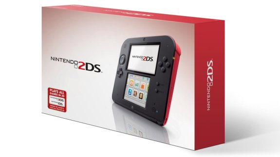 The Nintendo 2DS.