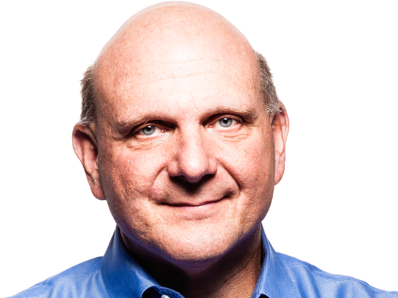 Microsoft CEO Steve Ballmer, courtesy of Microsoft.