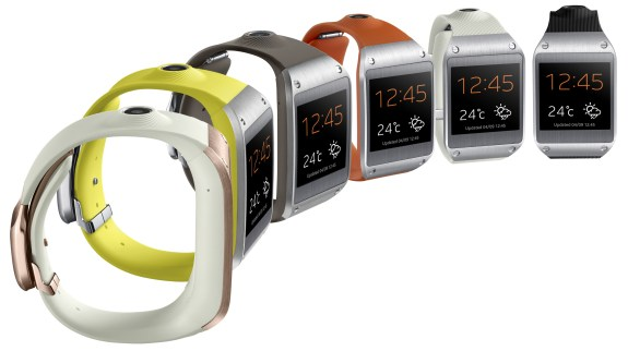 The Samsung Galaxy Gear