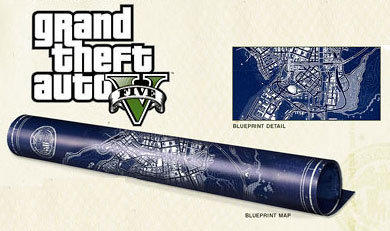 The GTA 5 map includes markers for where to get fast cash.