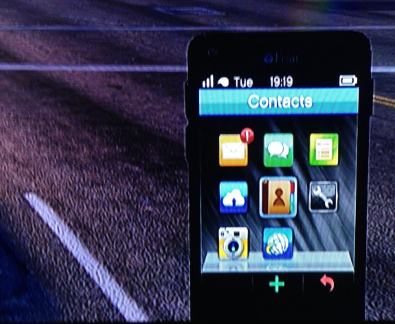 The GTA 5 iPhone running slightly outdated software.