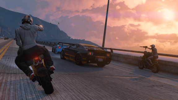 You can pay for in game cash in GTA Online.