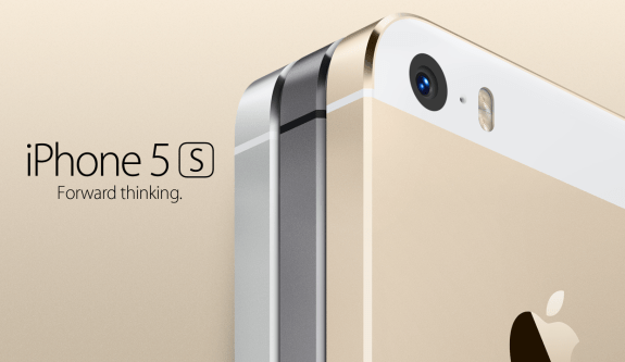 Apple is selling an iPhone 5S in gold for the first time.