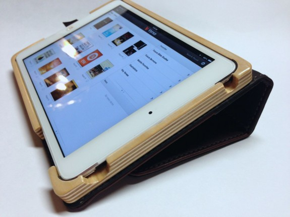 pad & quill aria case low angle stand