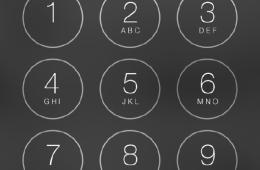 iOS 7 Security Passcode