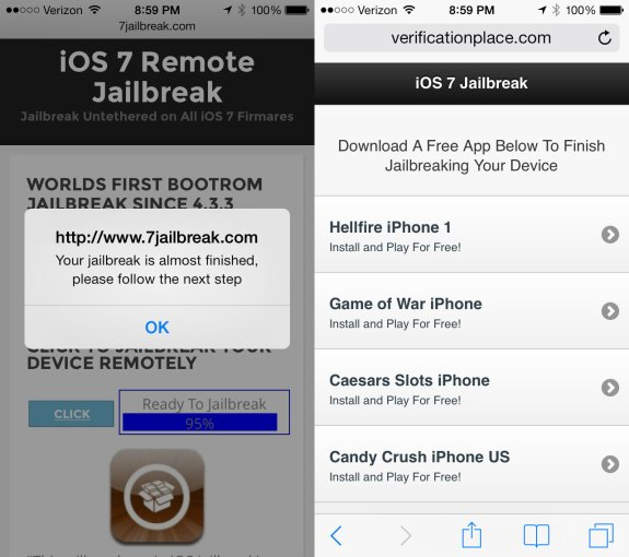 This iOS 7 jailbreak is not going to deliver Cydia on iOS 7.
