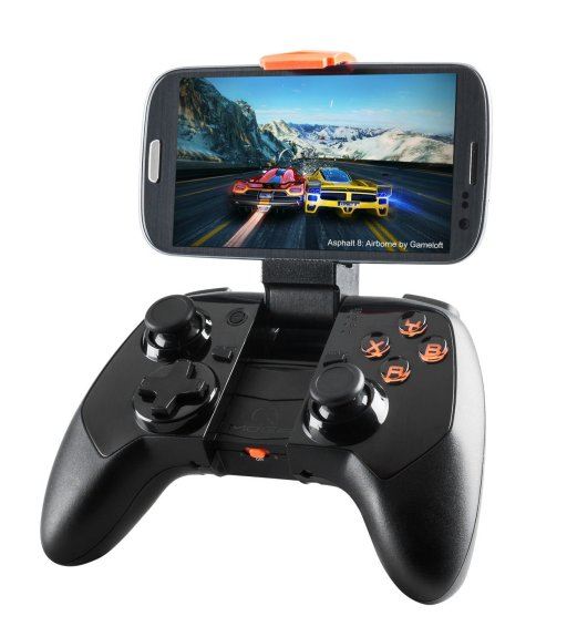 MOGA's Pro Power controller includes a built-in battery.