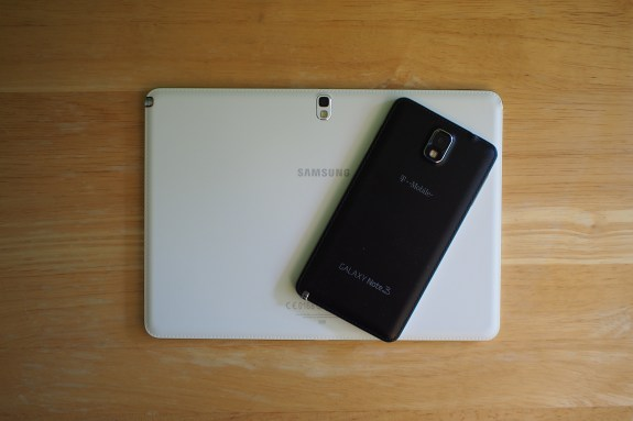 Galaxy Note 3 with Galaxy Note 10.1 2014 Edition