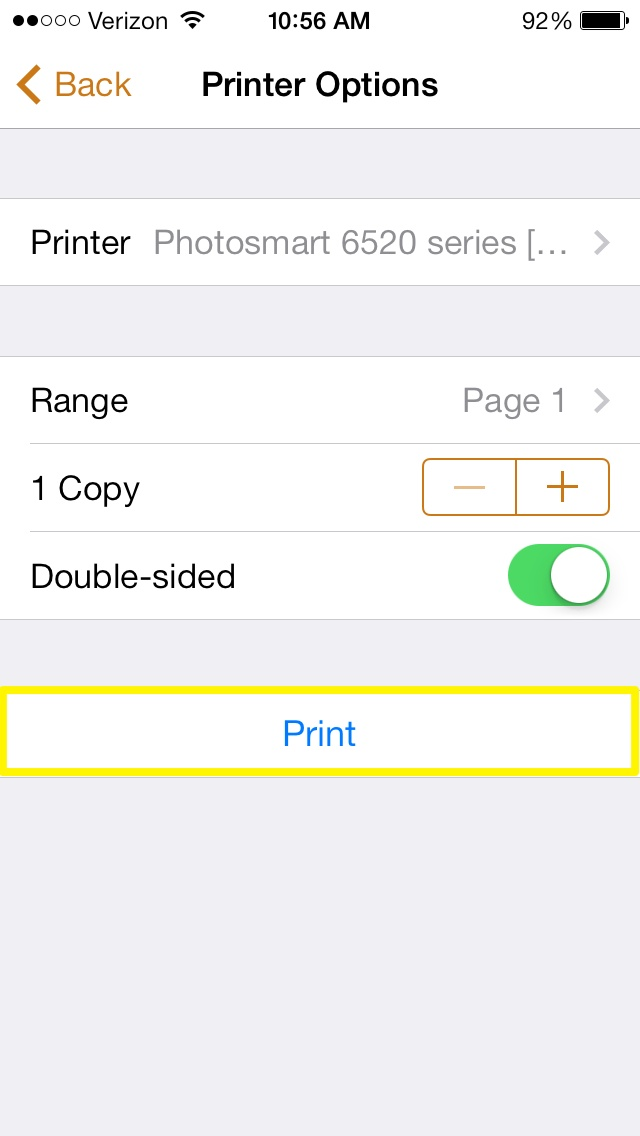 iphone printer settings how to setup airprint with iphone 12160