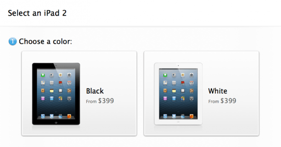 We should see iPad price drops once the iPad 5 arrives.
