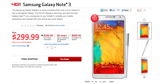 You don't need to pre-order the Galaxy Note 3.