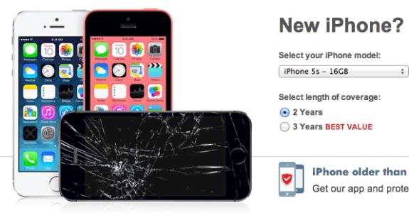 Squaretrade iPhone 5s warranty
