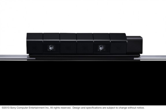 The upcoming PlayStation eye accessory for the PlayStation 4.