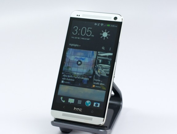 The Verizon HTC One delivers good sound and call quality.