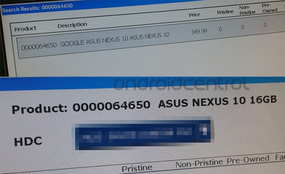There might be an Asus Nexus 10 inbound.