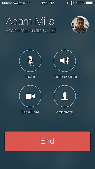 FaceTime Audio in iOS 7 sounds great.