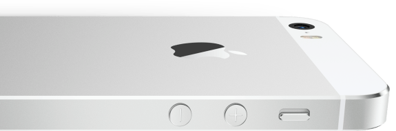 The iPhone 5S is no thicker, but it boasts better battery life.