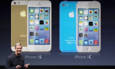 Apple may offer a iPhone 5S event live stream to show Tim Cook announce multiple iPhones. Image via Martin Hajek.