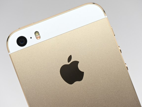The gold iPhone 5S is in short supply.