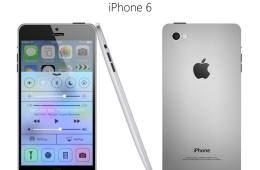 This 5-inch iPhone 6 concept draws from the original iPad.
