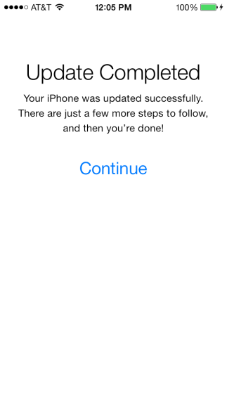 iOS 7 downloads are working again it seems.