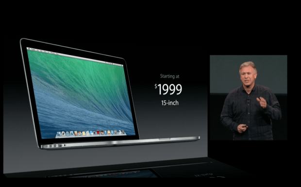 The 15-inch MacBook Pro Retina late-2013 model is here with longer battery life and a lower price.