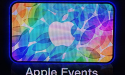 Watch the Apple October 22nd event live in video on the Apple TV, on iPhone, iPad and Apple computers.