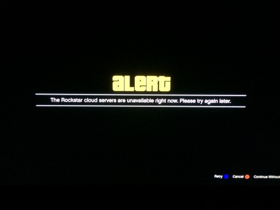 """The GTA Online error, """"Rockstar Cloud Servers Unavailable"""" is what we see most often while playing GTA Online."""