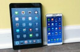 Galaxy Note 3 vs iPad mini 2- 1