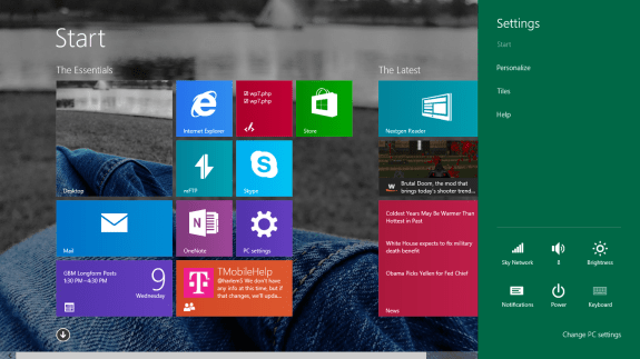 How to Stop Notifications in Windows 8 (3)