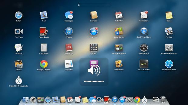 Get started installing OS X Mavericks.