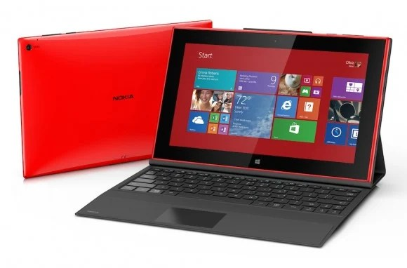The Nokia Lumia 2520 tablet.