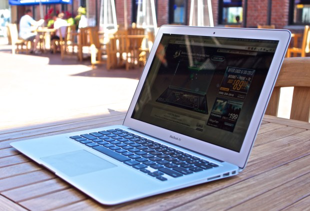 There is no matte option, but when comparing the MacBook Air vs MacBook Pro Retina, the Air may be a better option.