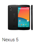 The Nexus 5.
